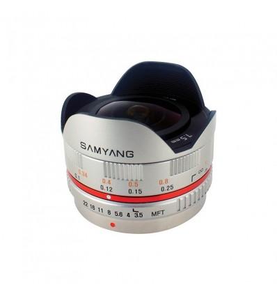 Samyang 7,5mm F3.5 UMC Ojo de pez MFT