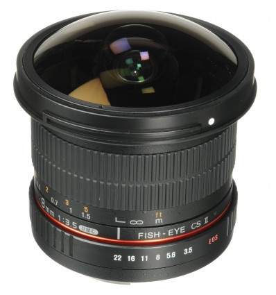Samyang 8mm F3.5 UMC/Ojo de Pez CSII