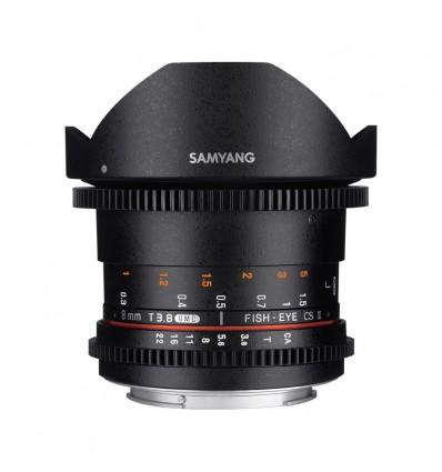 Objetivo Samyang 8mm T3.8 UMC Ojo de Pez CS II