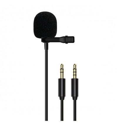 Litufoto micrófono lavanier VV10 Jack 3.5mm