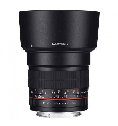 Objetivo Samyang 85mm f/1.4 AS IF UMC