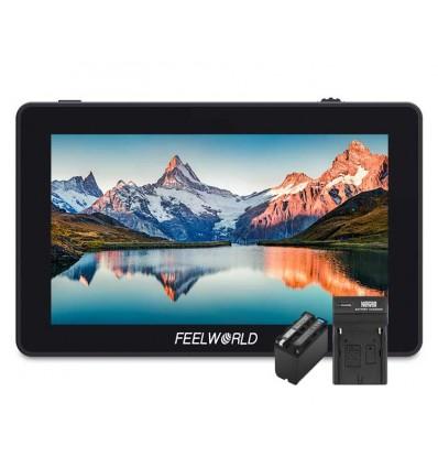"Feelworld F6 PLUS 5.5"" 4K Táctil"