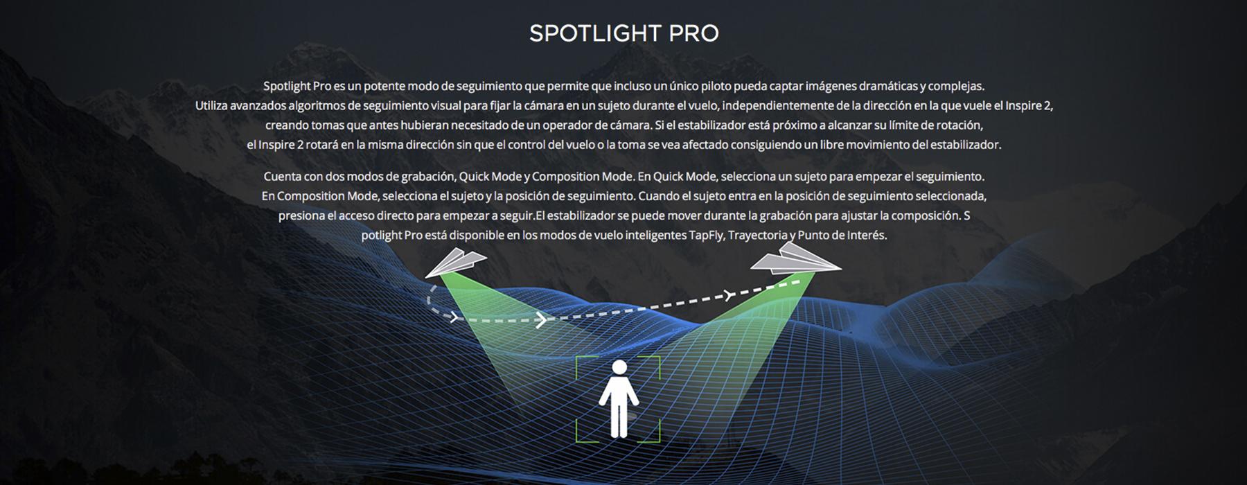 Spotlight PRO DJI INSPIRE 2