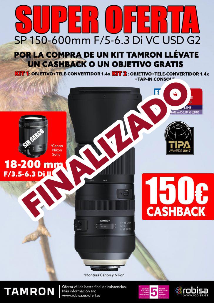 PROMOCIÓN ESPECIAL TAMRON SP150-600mm G2